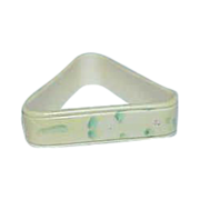 Triangular Shaped Art Deco Celluloid Napkin Ring