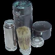5 Piece RUBBERSET Travel Shaving Brush