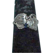 Unusual Black Hills Sterling Spinel Ring