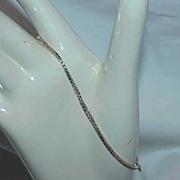 Box Link Sterling Bracelet