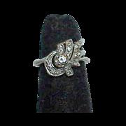 Diamond Waterfall Ring-14K