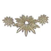 Vintage AVON Starflower Collection Brooch and Earring Set - Demi Parure