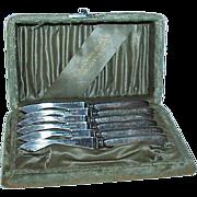Landers Frary & Clark 1890s Fruit Knives-Set of 6