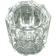 Depression Glass Salt Cellar