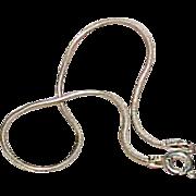 Vintage Italian Sterling Snake Link Bracelet