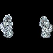 Vintage EISENBERG Rhinestone Earrings