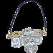 Vintage Swarovski Crystal Camera