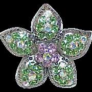 Vintage SWAROVSKI Crystal Rhinestone Pendant
