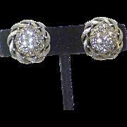 Vintage LISNER Rhinestone Earrings