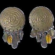 Vintage M. BAER Earrings
