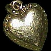 Vintage 10k Heart Charm/Pendant