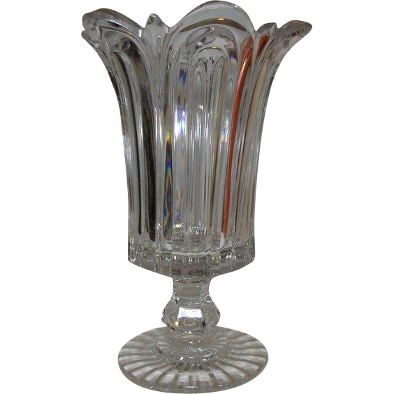 ANTIQUE, Celery Leaf Vase, 19th century