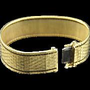 Superb! Italian 18K Yellow Gold Bracelet, Unisex
