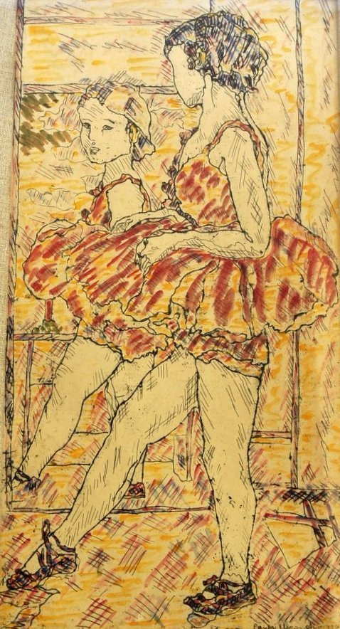American, 1895-1983,  The Little Dancer, Paula Eliasoph