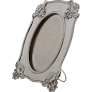 ANTIQUE & STUNNING ! French  Art Nouveau Sterling Silver Picture Frame