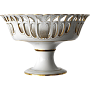 SEVRES circa 1860,  Magnificent and Rare Centerpiece Bowl