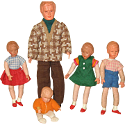 German doll house family