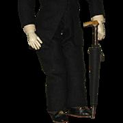 Umbrella prop for your Gentleman Fashion