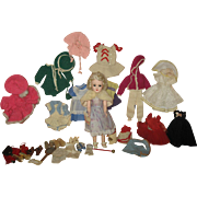 Vintage Mary Hoyer doll with clothing