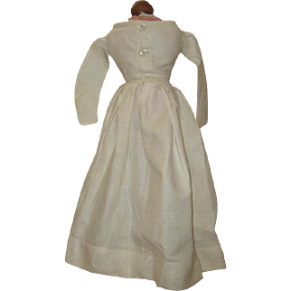 Antique white light weight cotton dress