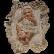 Artist made all bisque baby