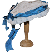 Antique wired doll hat