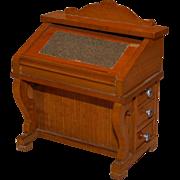 Antique German Schneegas Doll house desk