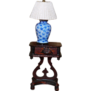 Fabulous 1/12 scale artist made lamp.