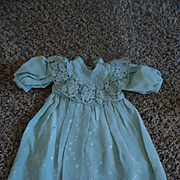 Lovely Aqua Dress for your antique girls