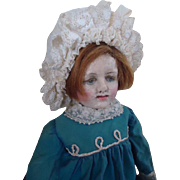 Antique Leather Doll with Provenance