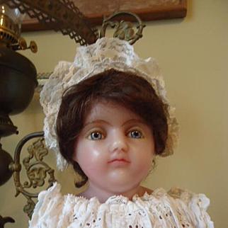 Beautiful Poured Wax English Girl