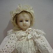 Beautiful English Poured Wax Girl