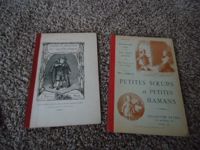 Two Antique French Books from Paris