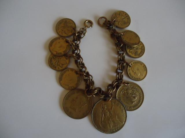 Wonderful Vintage Coin Bracelet