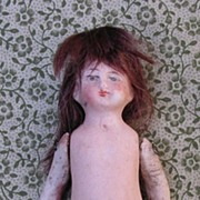 "3 1/4"" All Bisque Doll"