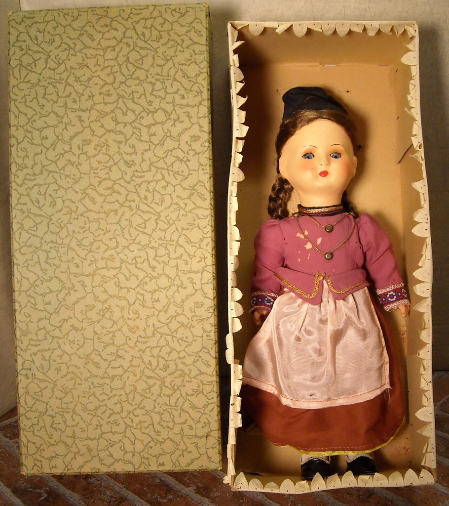 Gura Doll with Box ~ Franken