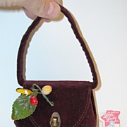 Vintage Child's/Doll's Purse