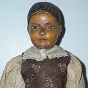 "10 1/4"" Early Swiss Linden Wood Doll ~ Original"
