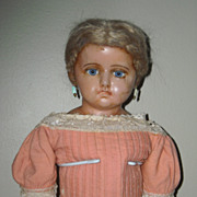 "27"" Wax-Over Doll by Dressel"