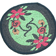 Appliqué Patch ~ Doll House Rug