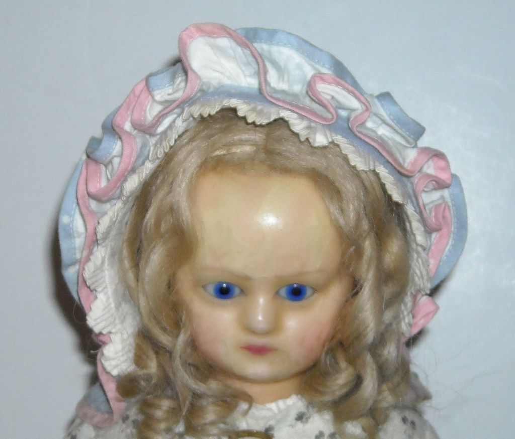 Vintage Cotton Doll Bonnet