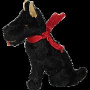 Mohair Scottish Terrier Dog for Doll House or Doll