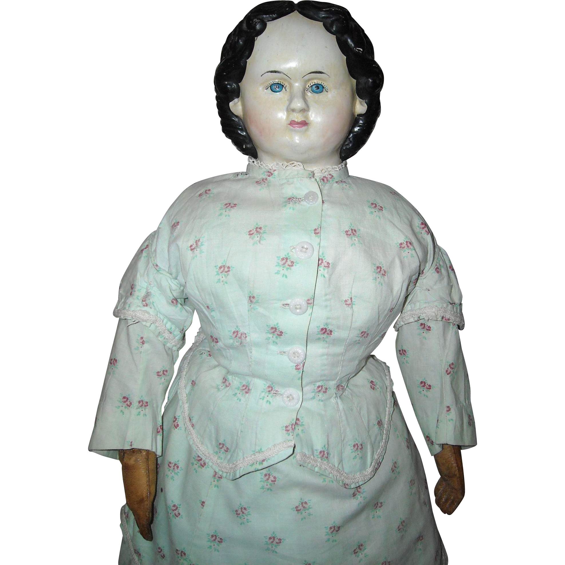 "26"" Greiner Doll with 1858 Label"
