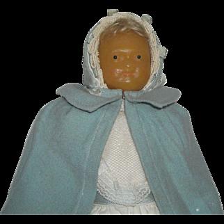Wax Faced Mystery Doll