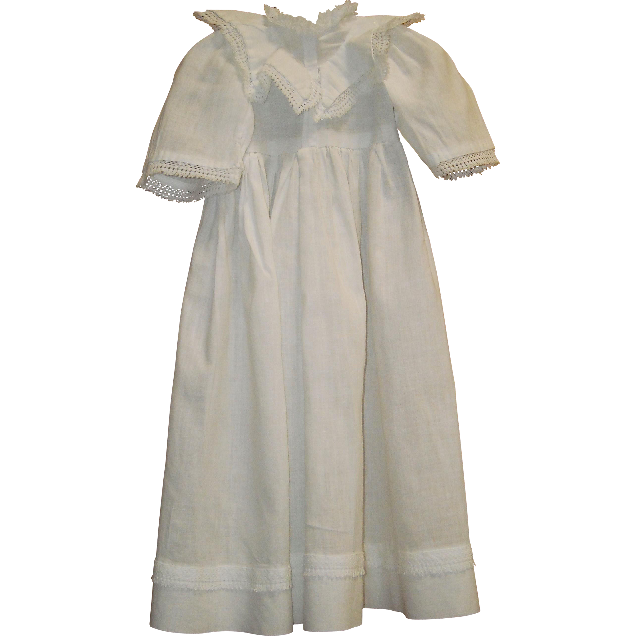 Early White Dolls Dress