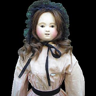 "26"" French Papier Mache Pauline Doll"