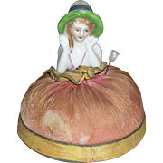 Small Half Doll Pin Cushion