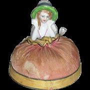 Small Half Doll Pin Cushion