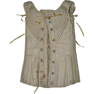 Ornate Salesman Sample or Doll Corset