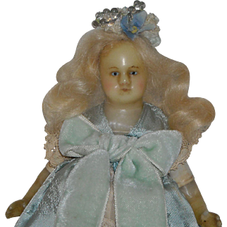 "7.5"" Petite Poured Wax Doll"